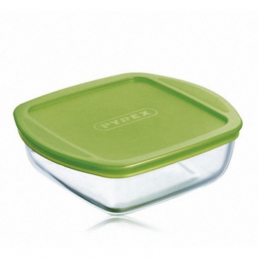 "Форма Pyrex ""Storage Cook&Store"" квадрат., крышка, 2,2л, 25*22см"